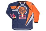 KINI RED BULL - 70 KINI-RB VINTAGE ORANGE BLUE SHIRT / MX JERSEY
