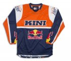 KINI RED BULL - 69 KINI-RB VINTAGE BLUE ORANGE SHIRT / MX JERSEY
